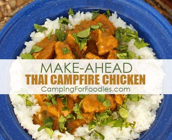 Dutch Oven Thai Campfire Chicken Recipe