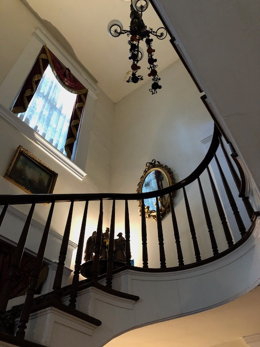 McRaven Home Fly Wing Staircase