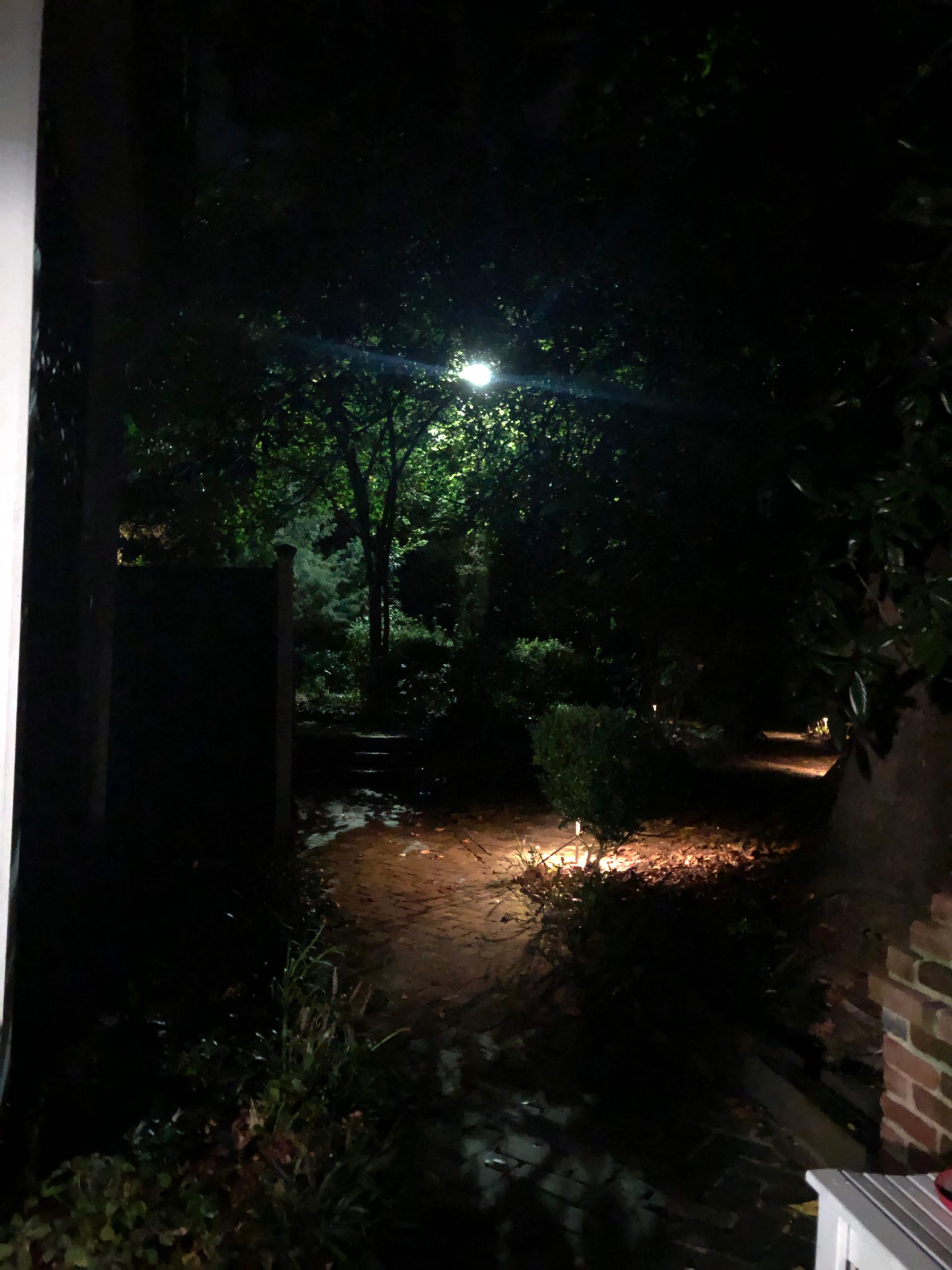 McRaven Home at Night