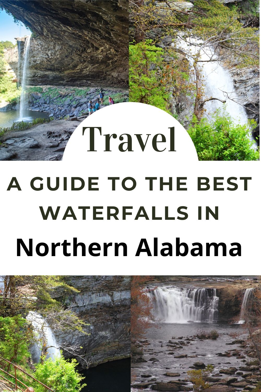 Northern Alabama BEST Waterfalls