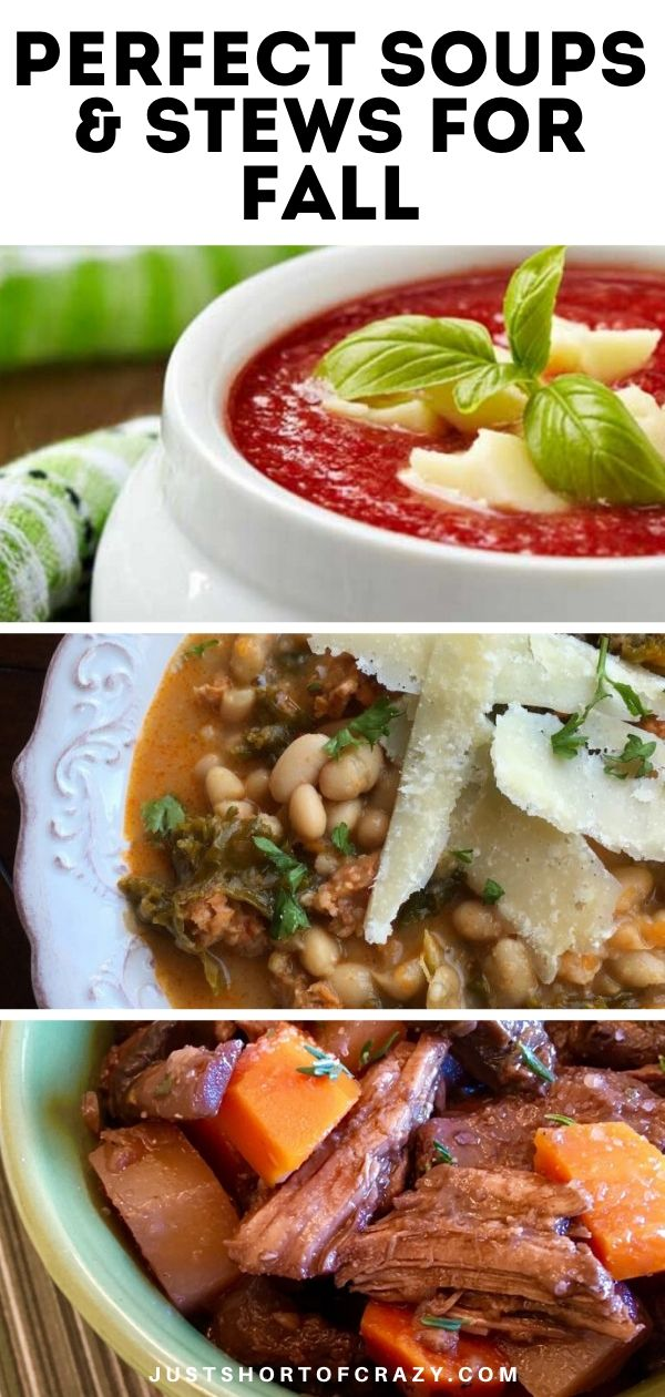 Perfect Soups & Stews For Fall