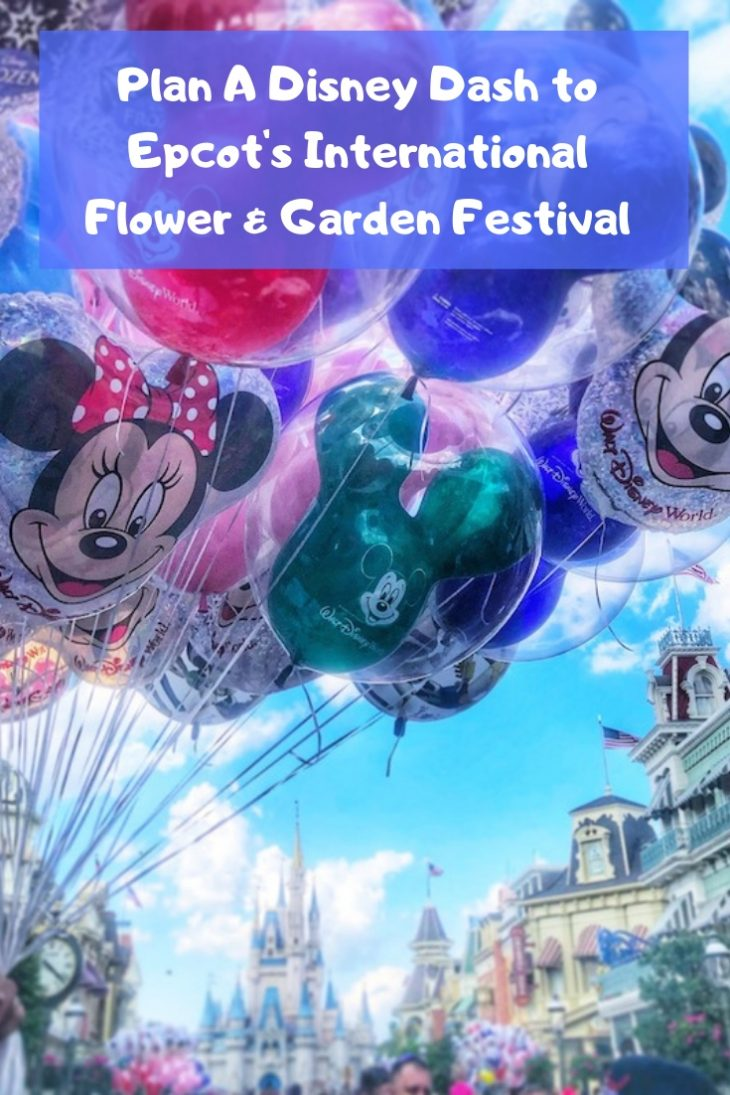 Plan A Disney Dash to Epcot's International Flower & Garden Festival