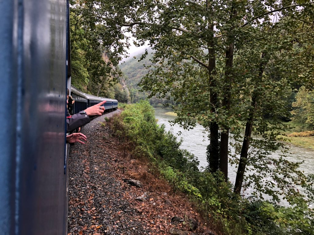 All Aboard the Potomac Eagle Scenic Train