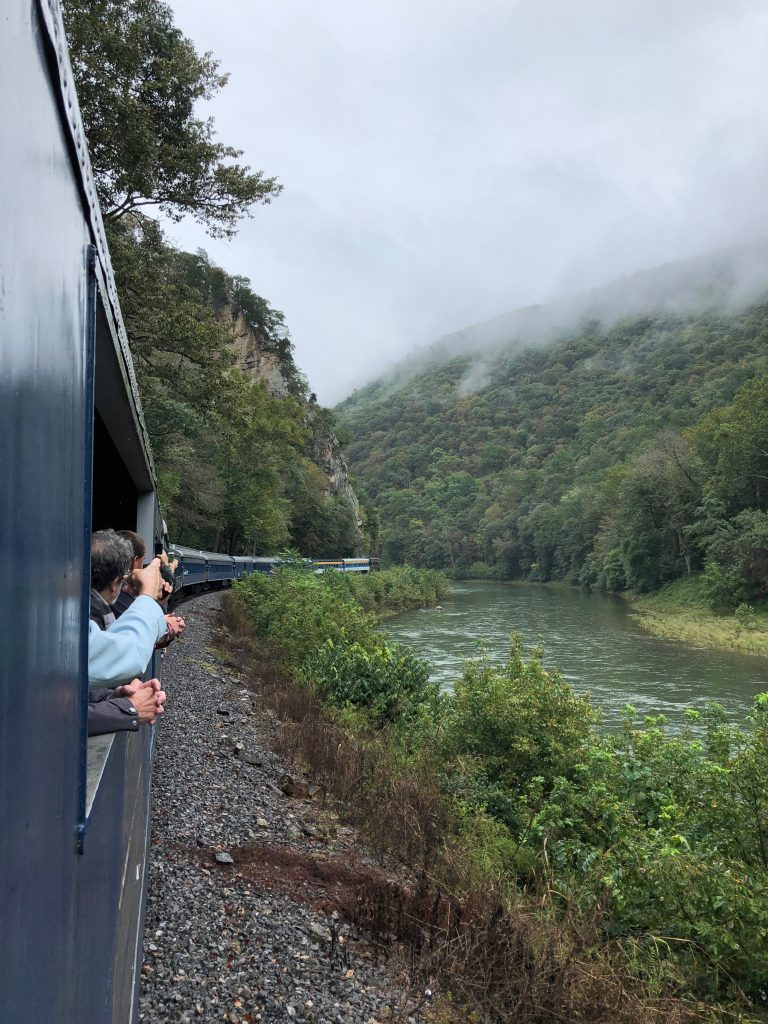 potomac eagle scenic train ride