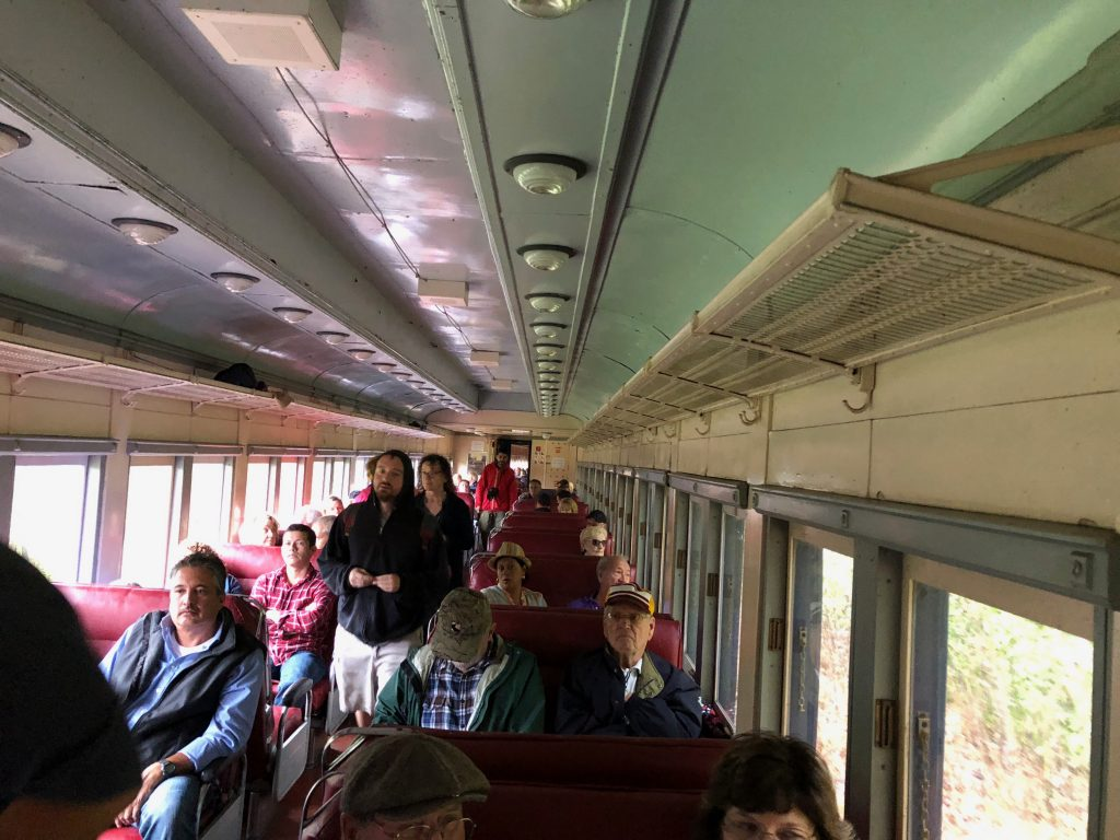 All Aboard the Potomac Eagle Scenic Train