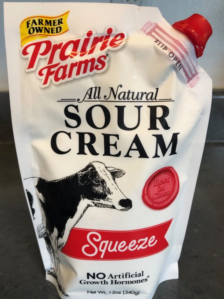 Prairie Farms Squeeze Sour Cream Pouch