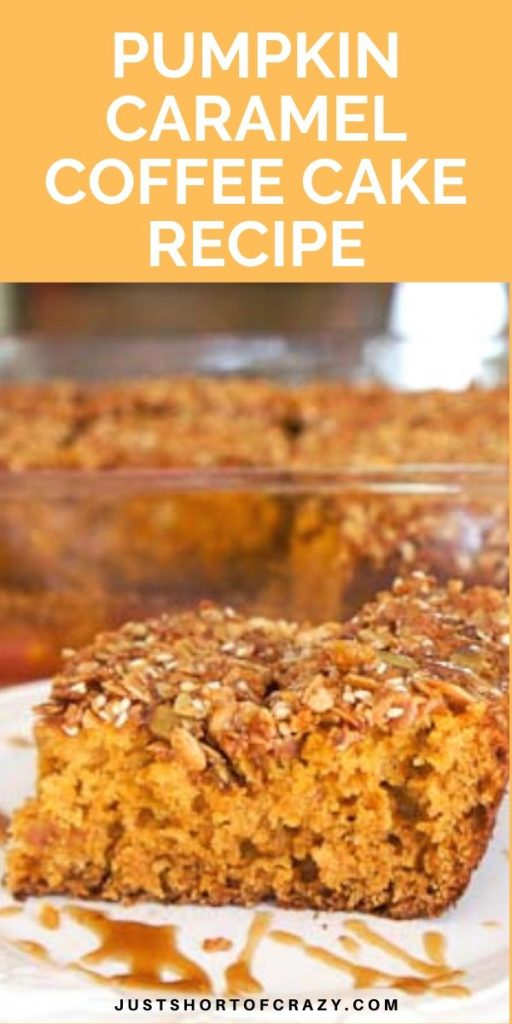 Pumpkin Caramel Coffee Cake Recipe
