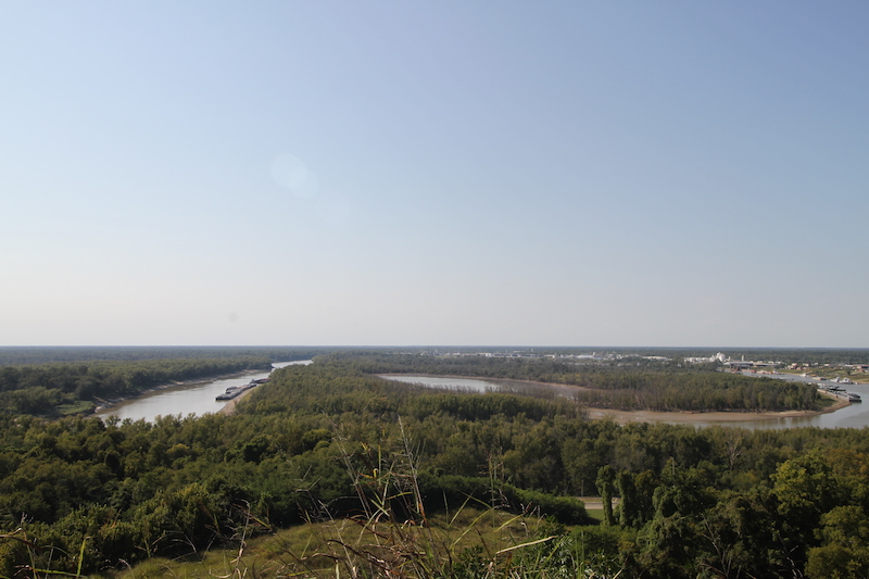 River View from Vicksburg National Cemetery