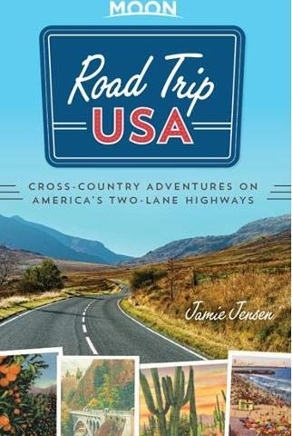 Road Trip USA Moon Guide Book Cover