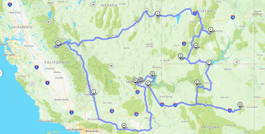 Itinerary Ideas for a 2 Week Road Trip in the USA