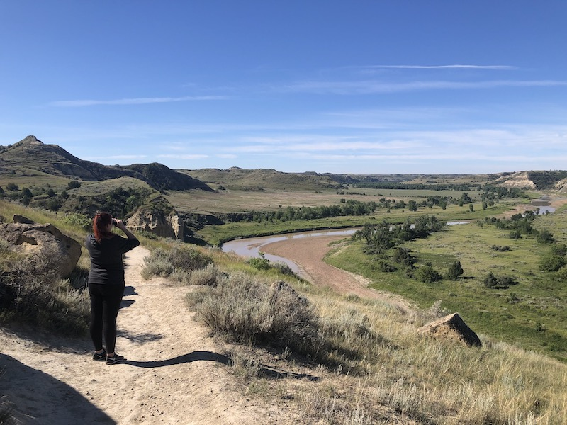 Little Missouri River at Wind Canyon Trail