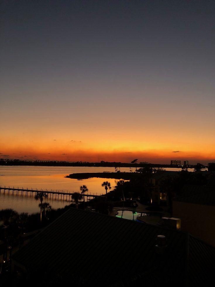 sheraton pcb sunset