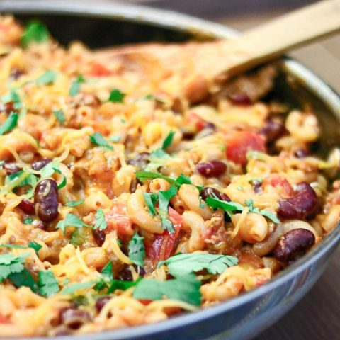 Skillet-Turkey-Chili-Mac-3