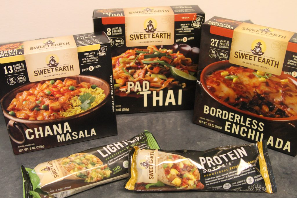 Sweet Earth Foods are organic, vegan or vegetarian, frozen foods that make meal time easy!