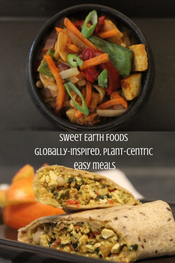 sweet earth vegan and vegetarian foods available at Kroger