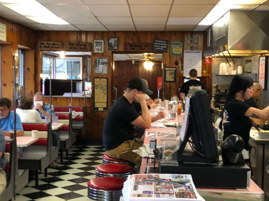Tom and Joe's Diner