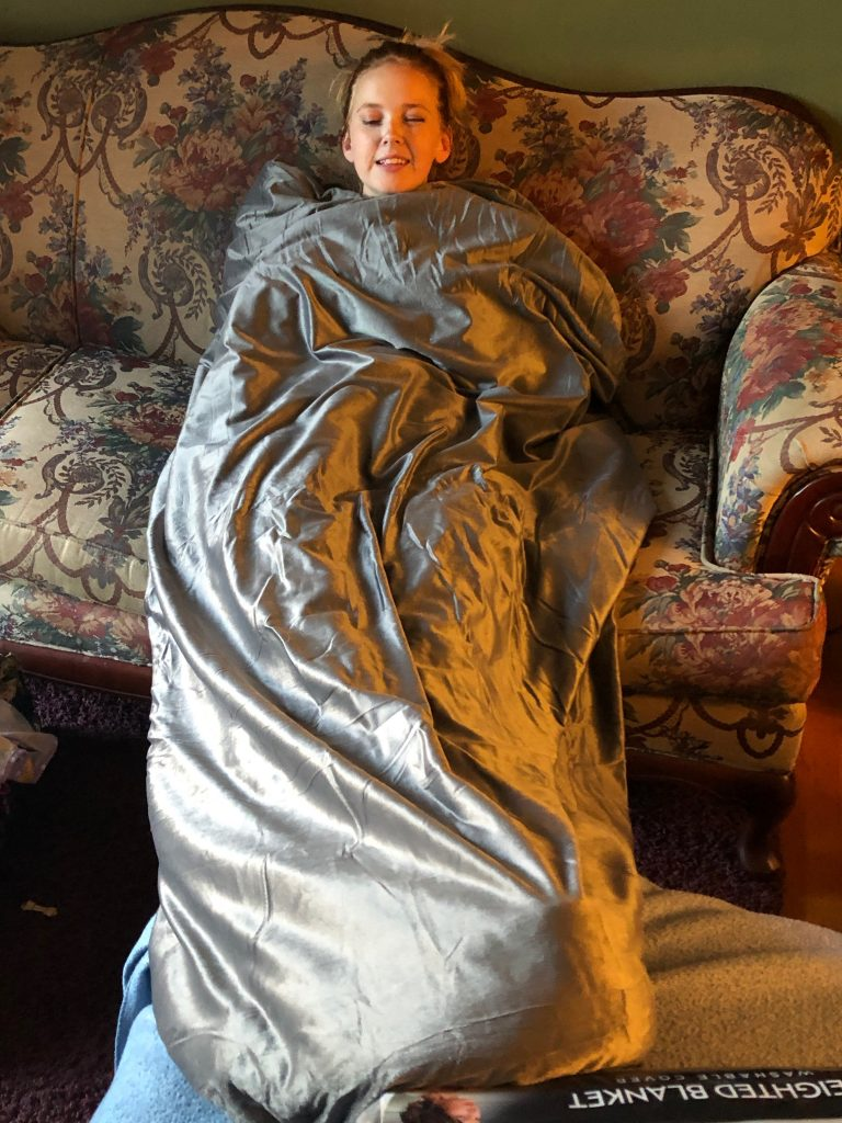 Why You Need A Weighted Blanket In Your World Just Short Of Crazy