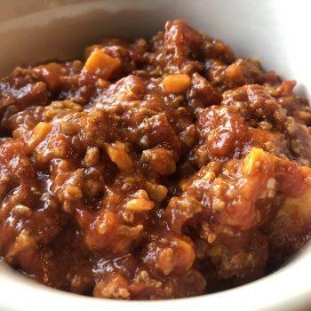 Turkey Sweet Potato Chili 6