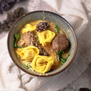 Turkey meatball soup recipe 1
