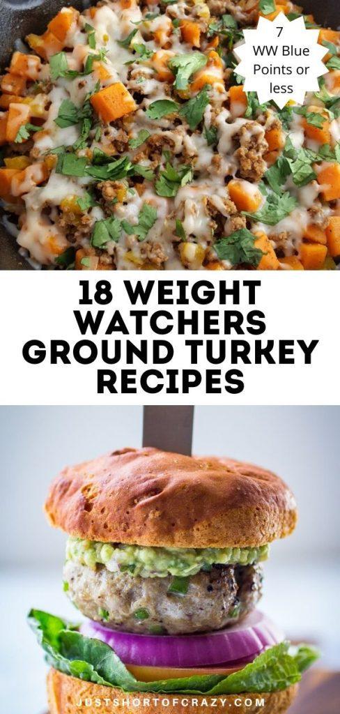 WW Ground Turkey Recipes (1)