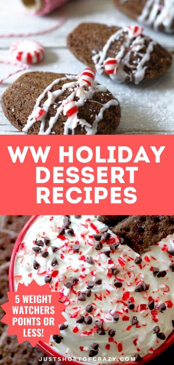 WW Holiday Dessert Recipes