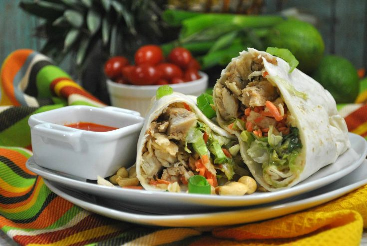 Our Thai Chicken Wrap Has Only 4 Weight Watcher Points!