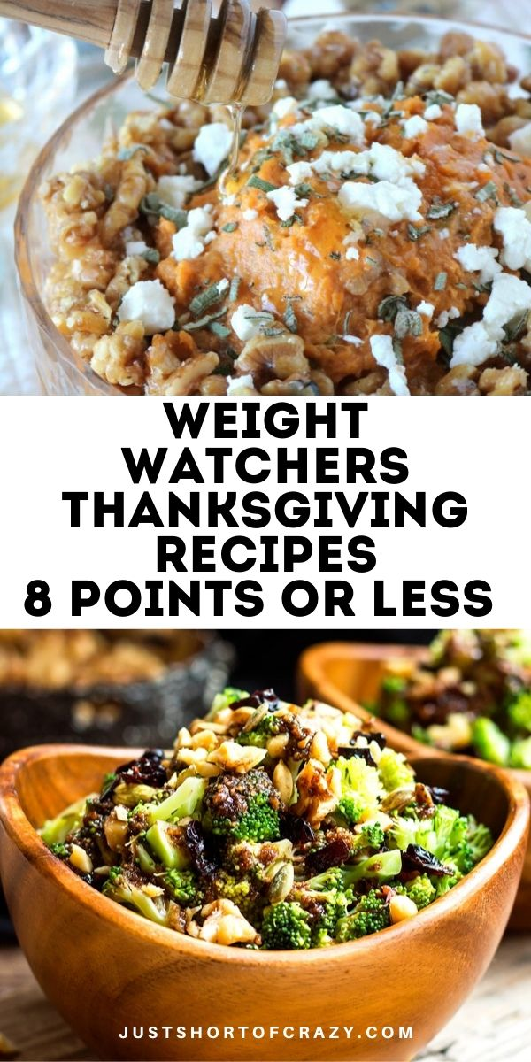 WW Thanksgiving Recipes
