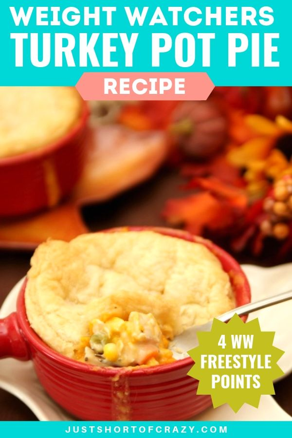 WW Turkey Pot Pie Recipe 4 Points