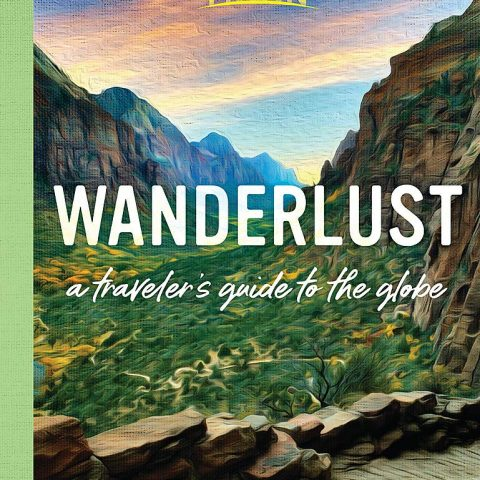 Wanderlust a travelers guide to the globe book cover