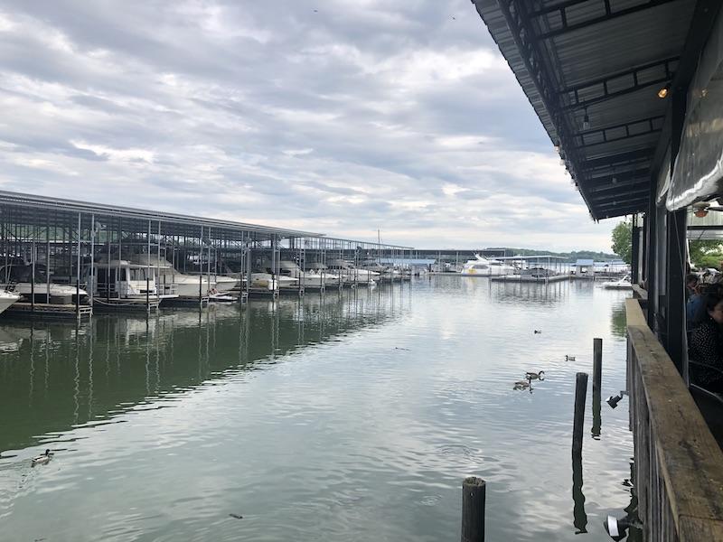 Water view at Calhoun's in Lenoir City
