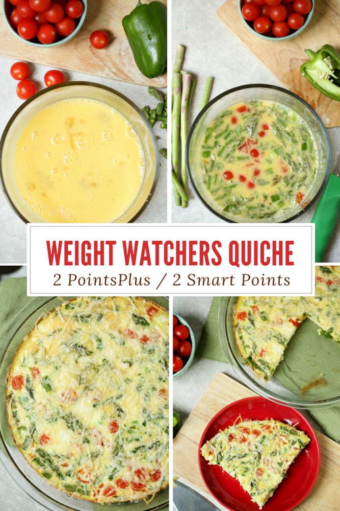 Weight Watchers Friendly Quiche Recipe – 1 Smart Point / FREESTYLE