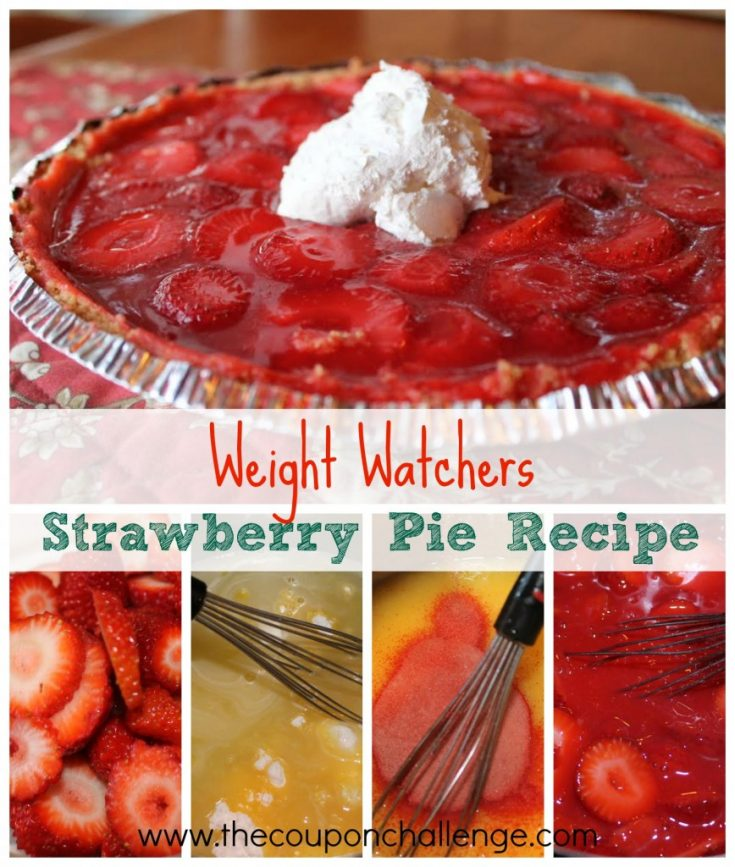 Weight Watchers Strawberry Pie Recipe