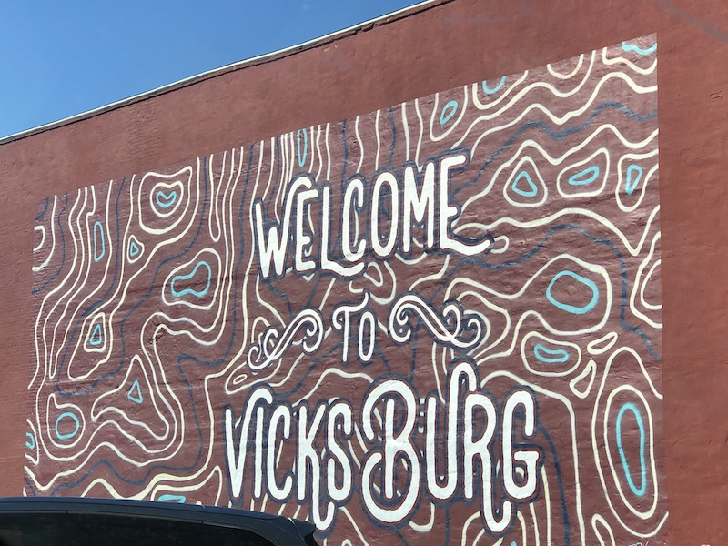 Welcome to Vicksburg Mural
