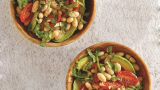 White Bean Salad with Tomatoes and Avocado Recipe