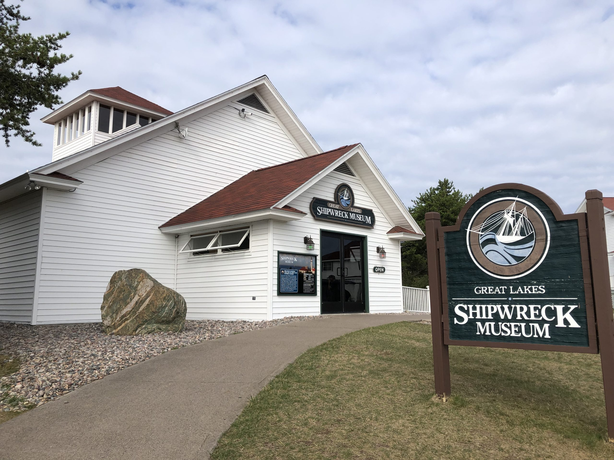 Shipwreck Museum at whitefish point