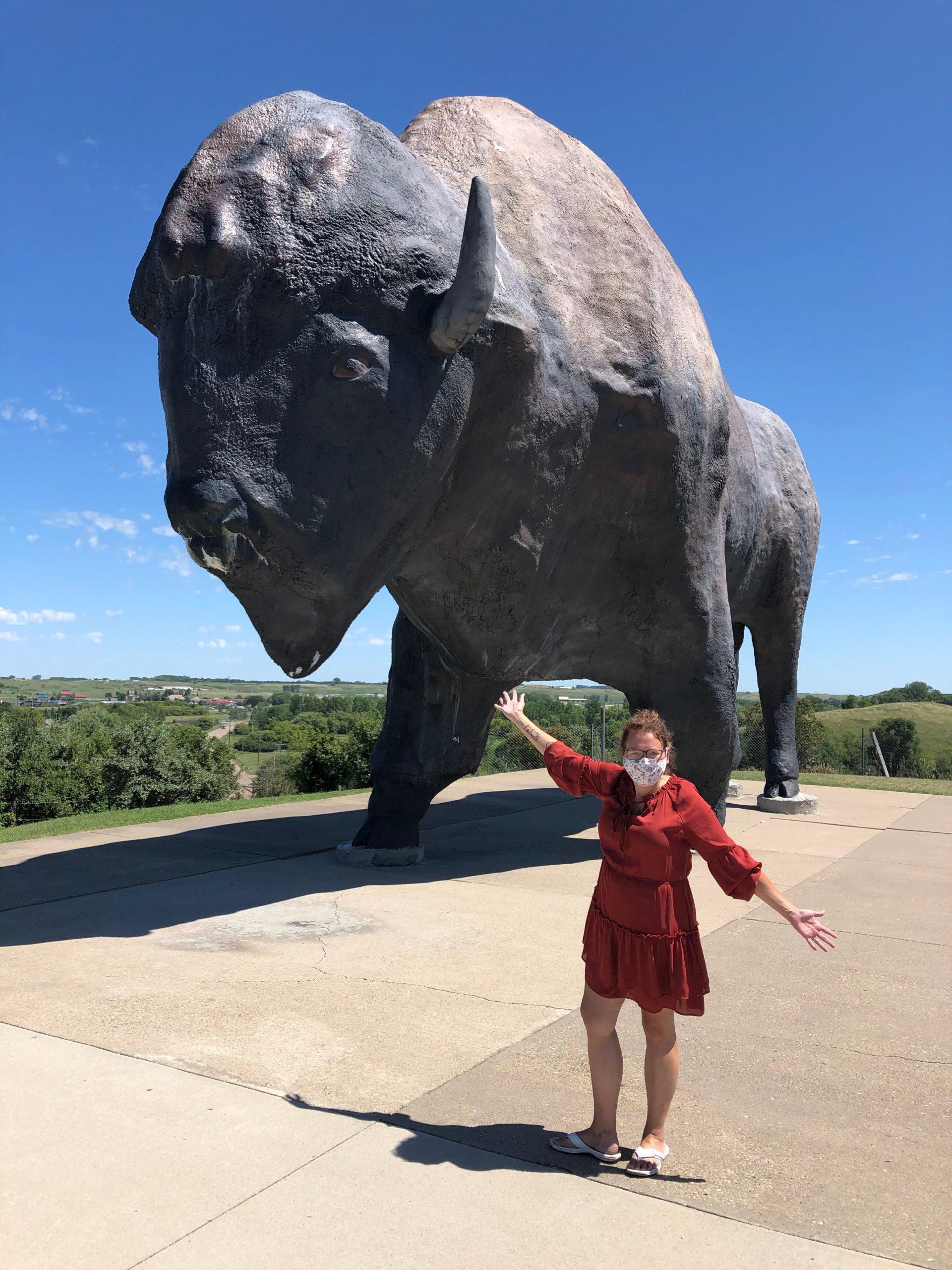 Worlds Largest Buffalo Jamestown ND