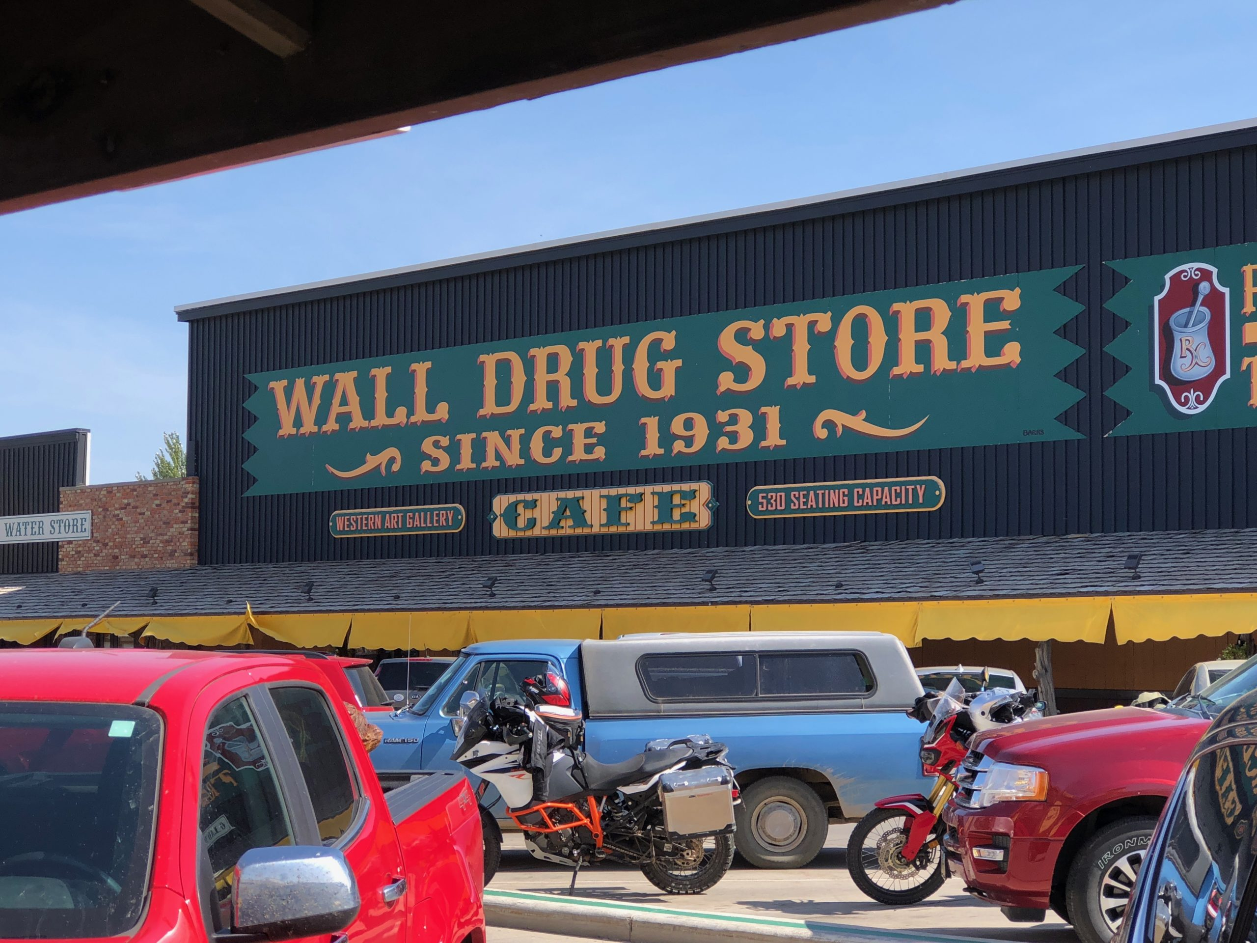 Worlds Largest Drug Store Wall SD