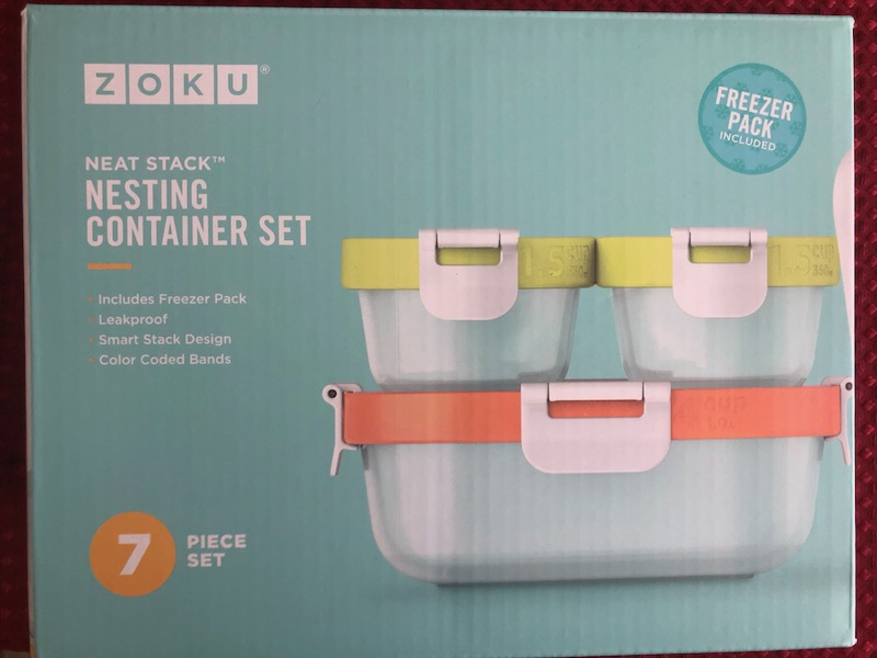 Zoku Nesting Stack Containers