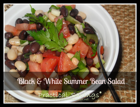 Weight Watcher's Bean Salad Recipe