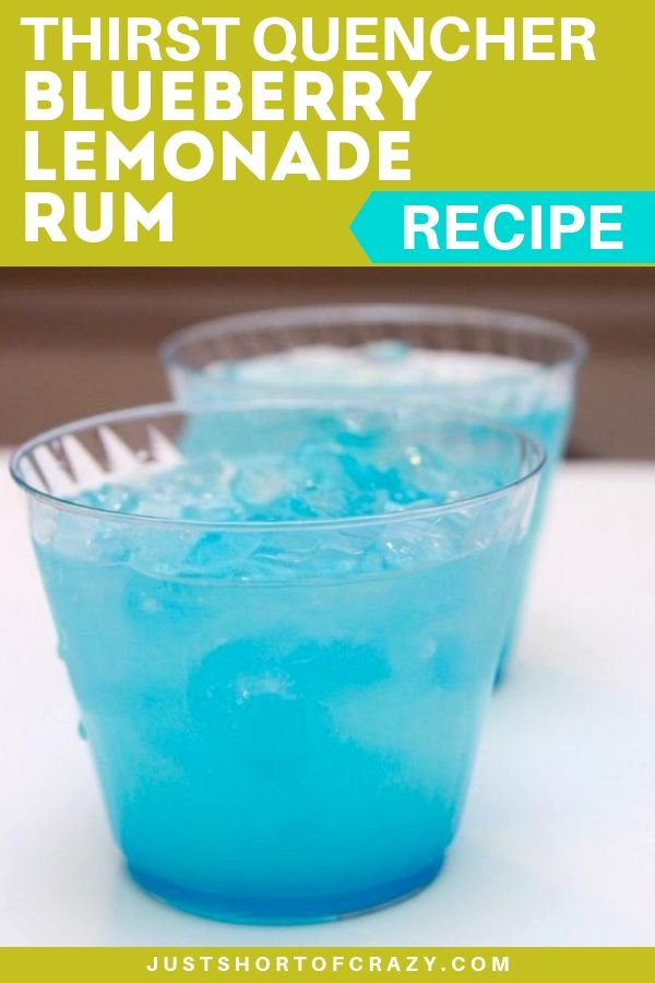 blueberry lemonade rum pin