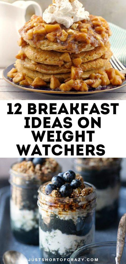 breakfast ideas on weight watchers
