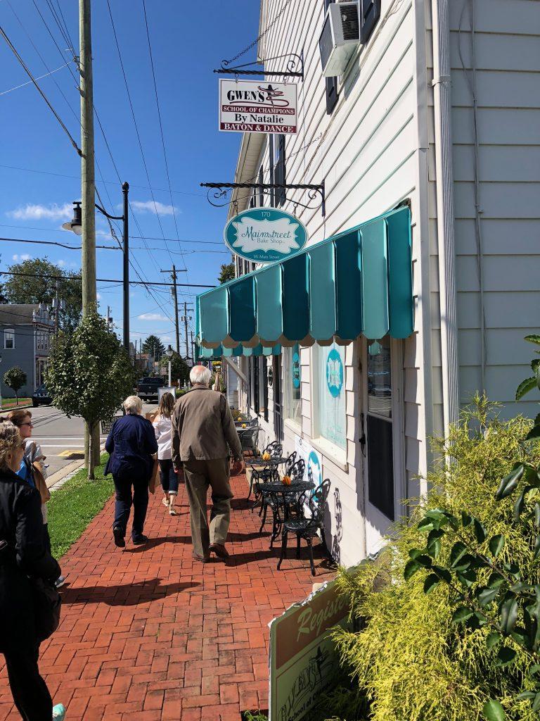 saxonburg food walking tour
