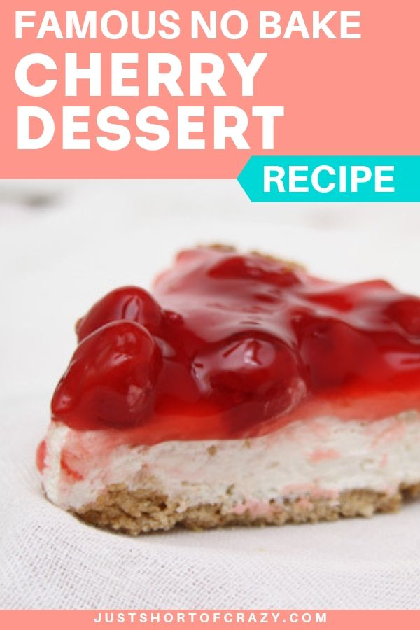 no bake cherry dessert