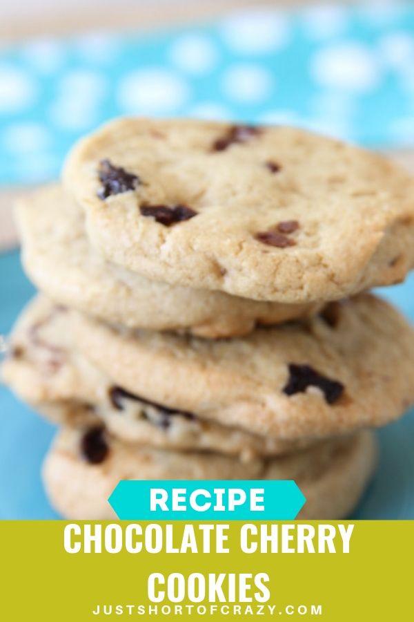 chocolate cherry cookies