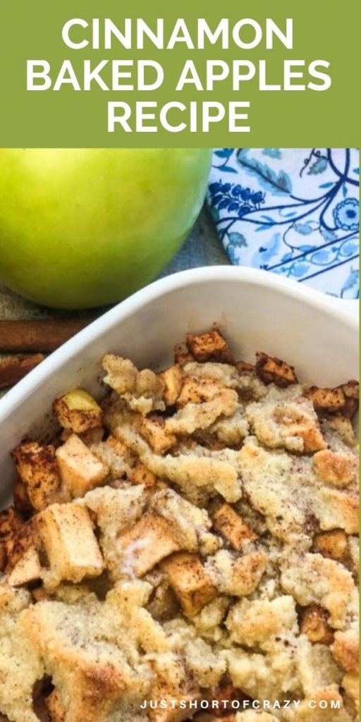 cinnamon baked apples recipe