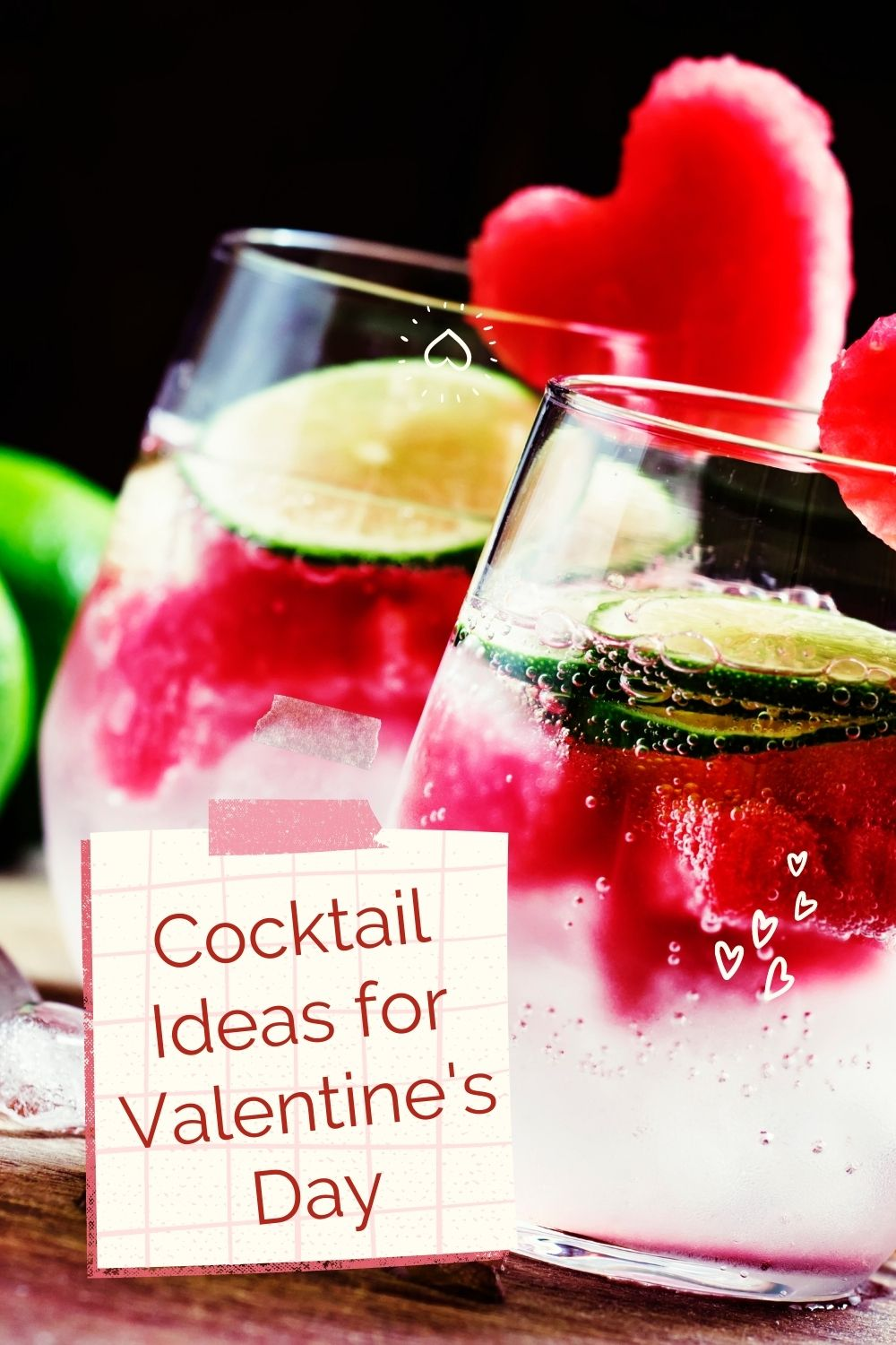 cocktail ideas for valentines day