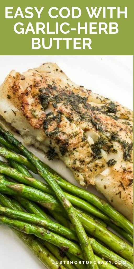 cod with garlic butter