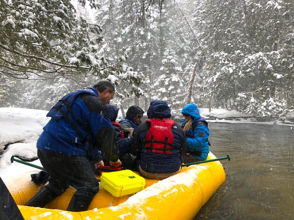 Winter Rafting 1