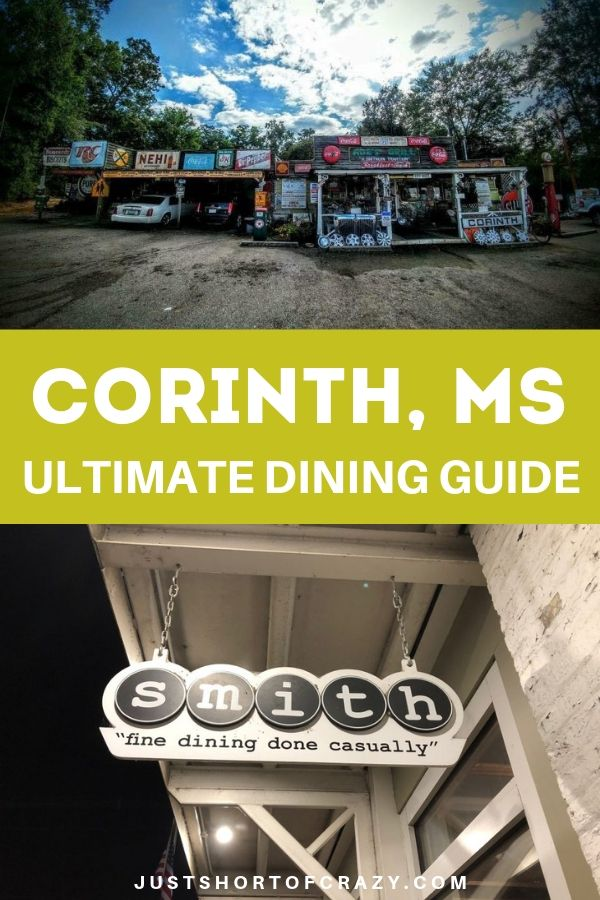 corinth ms dining guide