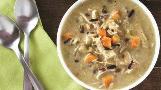 Creamy Turkey and Wild Rice Soup Recipe